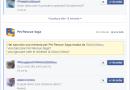 Bloccare richieste giochi su Facebook
