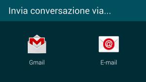 Salvare conversazione WhatsApp su Pc