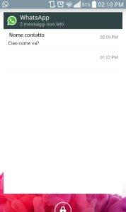 messaggi WhatsApp senza effettuare l'accesso