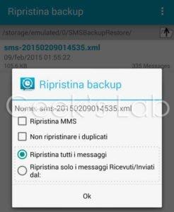sms backup 2