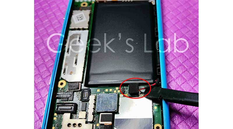 Nokia Lumia 800 battery replacement