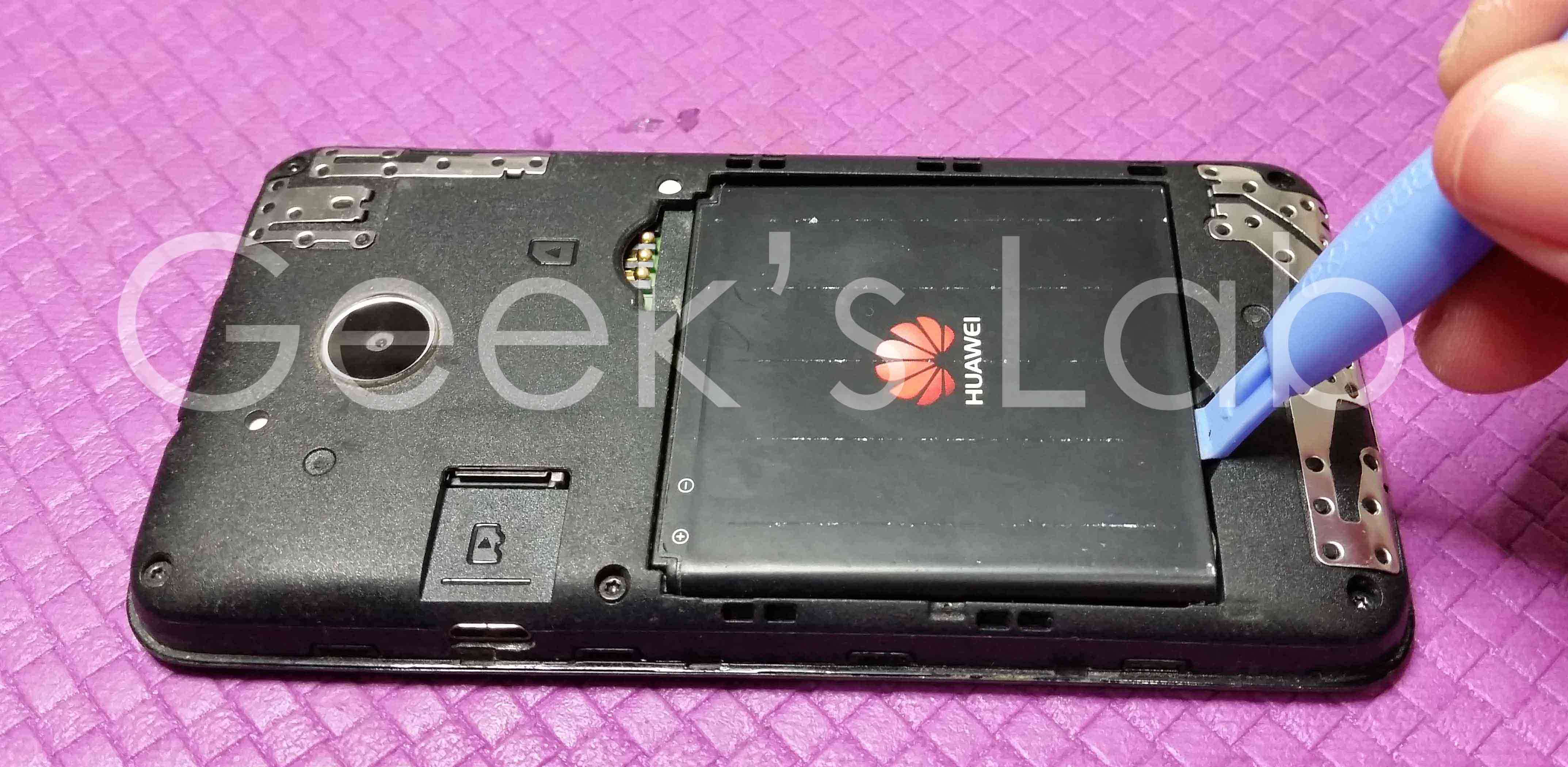 Huawei Ascend Y330 Touch screen replacement | Geek's Lab