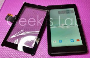 touch screen Asus FonePad 7 K00E