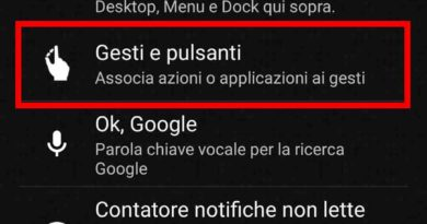 Abilitare Knock Off su smartphone Android (no Root)