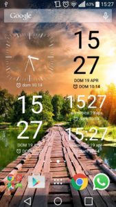 Home e widget Xperia