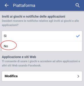 Bloccare richieste giochi su Facebook - Android