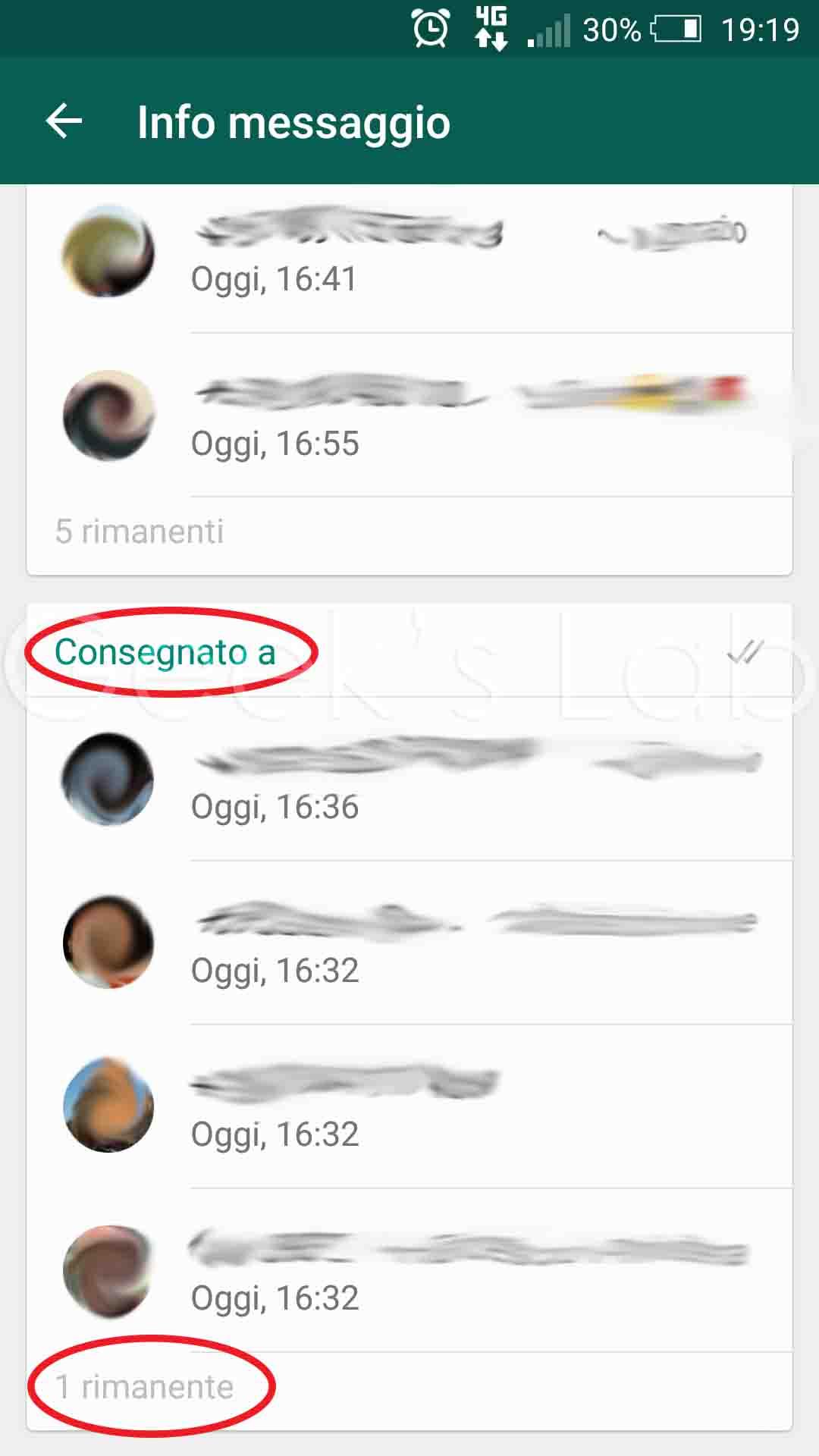 Vedere chi visualizza un messaggio nei gruppi whatsapp - Instagram messaggio letto ...