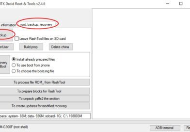 Creare backup firmware con MTKDroidTools [MT65xx]