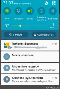 Connettere mouse e tastiera su dispositivi Android