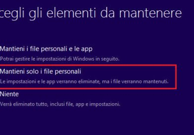 Non è possibile installare Windows 10 0x8007002C – 0x4001E