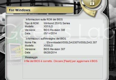 Come aggiornare UEFI BIOS Asus