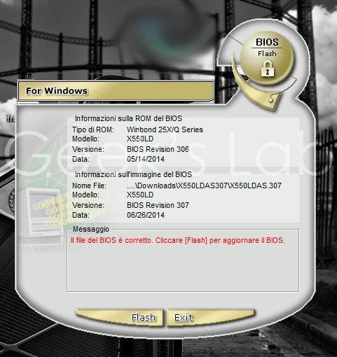 aggiornare UEFI BIOS Asus