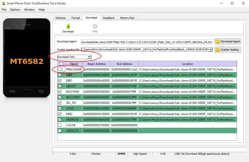 Installare firmware Alcatel OneTouch POP C7 7041D