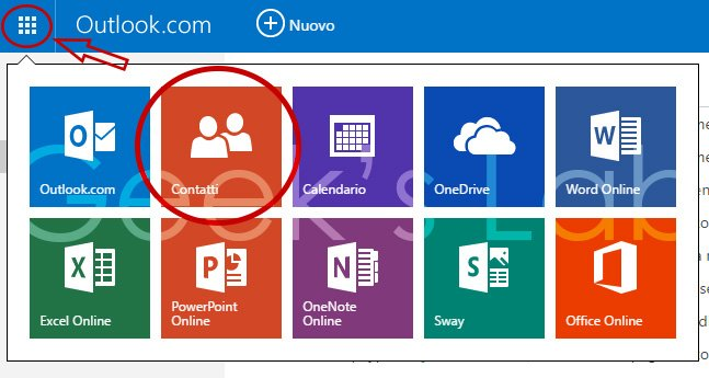 Trasferire contatti Windows Phone su Android