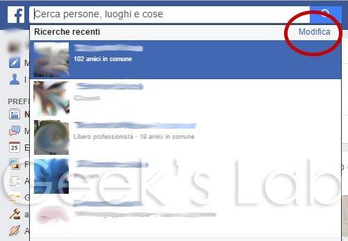 cronologia ricerche facebook 1