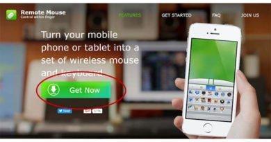 Utilizzare lo smartphone come mouse
