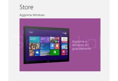 Come aggiornare Windows 8 a Windows 8.1