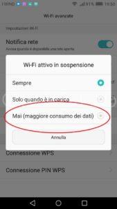 wifi-attivo-in-sospensione-mai-p8-lite