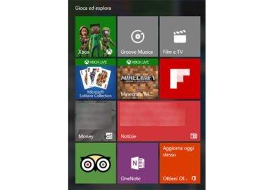 Rimuovere app di sistema Windows 10