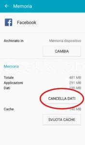 cancella-dati-android