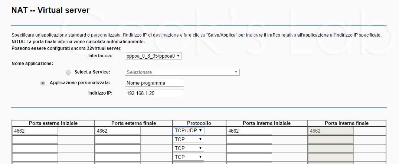 Aprire porte su router TP LINK TD-W8960N
