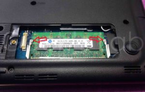 memoria RAM su netbook Samsung N150