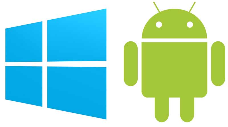 Trasferire contatti da Android a Windows Phone