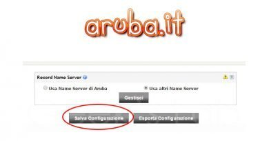 Come modificare DNS su Aruba