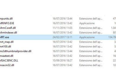 Disattivare Strumento di rimozione Malware su Windows
