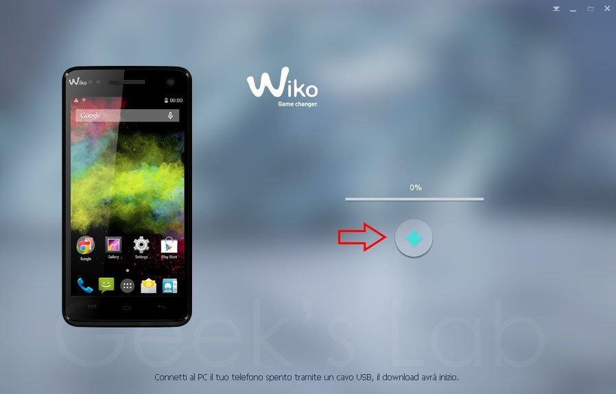 foto dal cellulare wiko al pc tramite cavo usb
