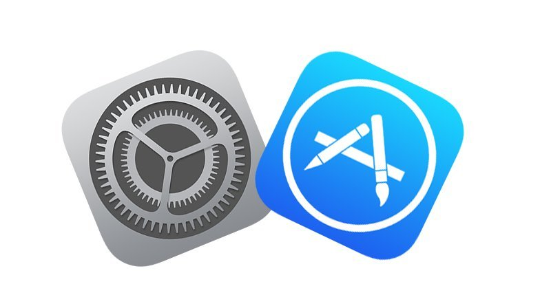 logo app store settings