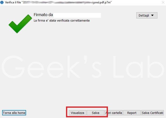 dike 6 verifica file p7m