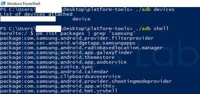 disinstallare app di sistema su Android