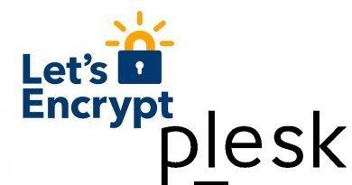 Configurare certificato SSL con Plesk