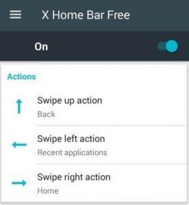 Menù X Home Bar