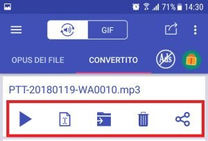 salvare messaggi vocali WhatsApp