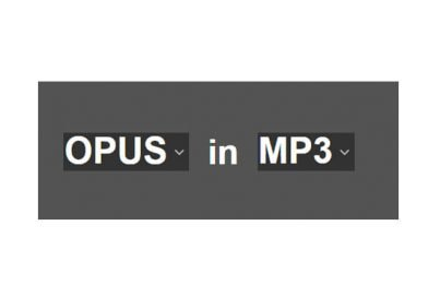 Come convertire file opus in MP3