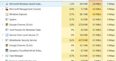 100% Disk Usage in Windows