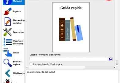 Come convertire file EPUB in MOBI