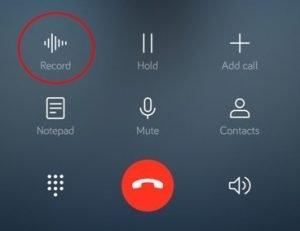 Registrare chiamate su smartphone Huawei