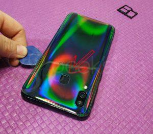 vetro posteriore Samsung Galaxy A40